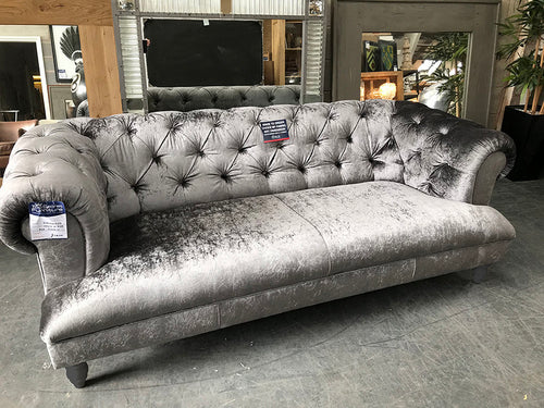 Drummond Button Tufted Sofa from Top Secret Furniture Cheshire