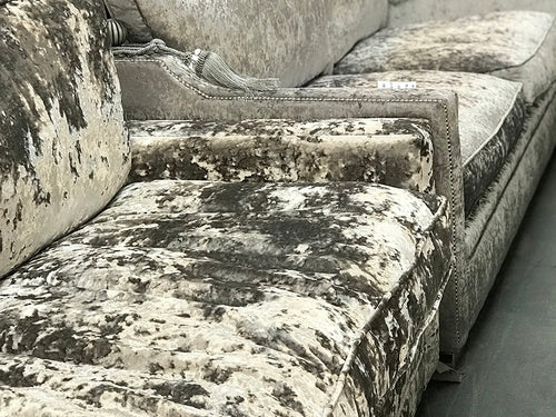 Velvet Crush Sofa in variety of colours from Top Secret Furniture