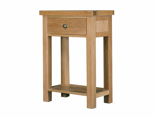 Eton Solid Oak Drawer Console from Top Secret Furniture