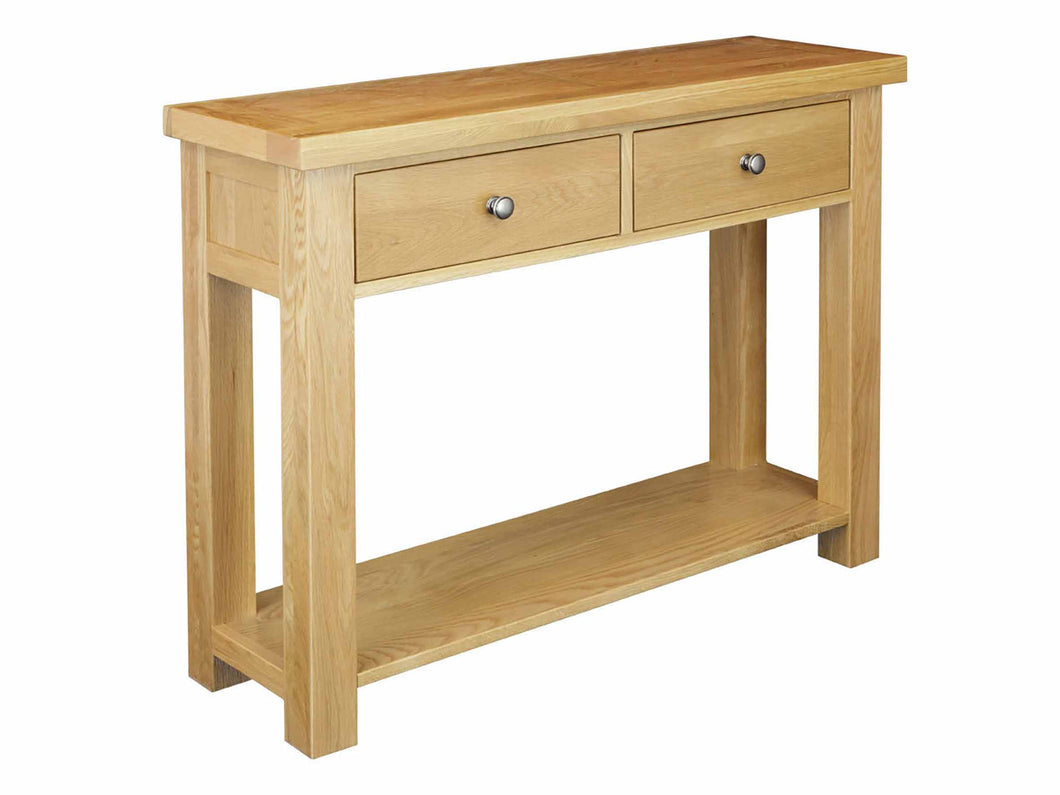 Eton Solid Oak Console at Top Secret Furniture