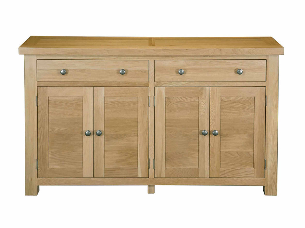 Eton Solid Oak Large Sideboard