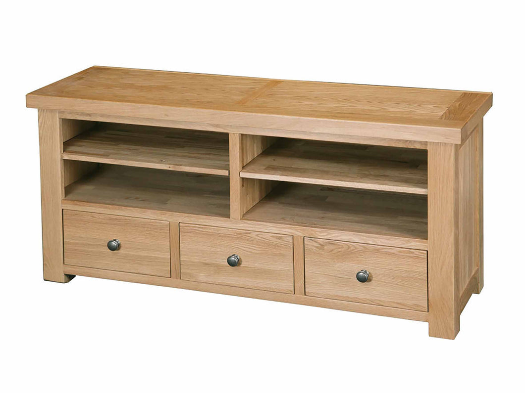 Eton Solid Oak TV Unit from Top Secret Furniture