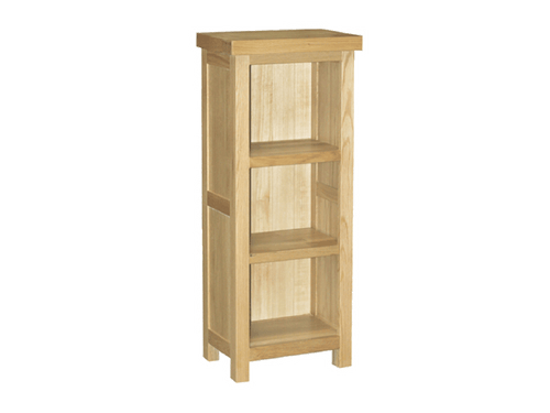 Eton small bookcase in solid Oak Furniture from Top Secret Furniture