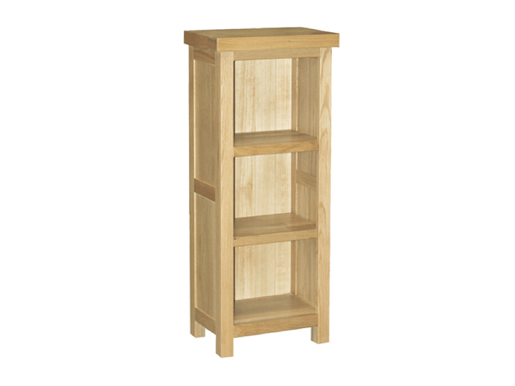 Eton Solid Oask Small Bookcase