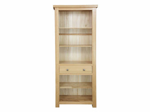 Eton Solid Oak Bookcase from Top Secret Furniture
