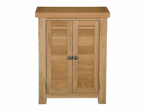 Eton Solid Oak Shoe Cabinet from Top Secret Furniture