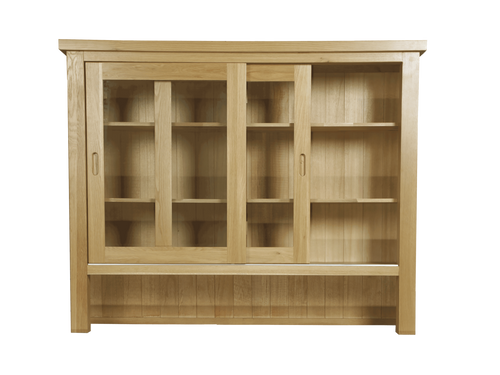 Eton dresser top in solid Oak Furniture from Top Secret Furniture