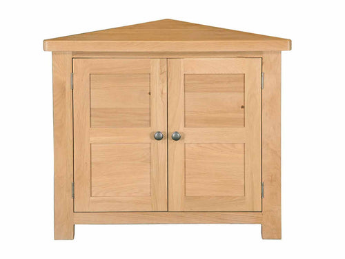 Eton corner cabinet in solid Oak Furniture from Top Secret Furniture