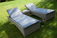 Load image into Gallery viewer, Rattan Sunbed Garden Loungers  from Top Secret Furniture, Holmes Chapel
