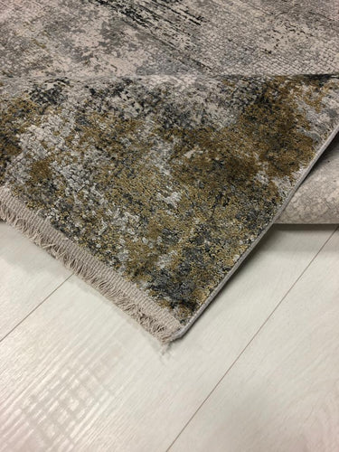 Gooch Luxury Rugs over dyed Frost Grey from Top Secret Furniture