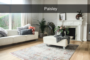 Gooch Luxury Rugs in Paisley from Top Secret Furniture