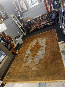 Gooch Luxury Rugs over dyed Copper from Top Secret Furniture