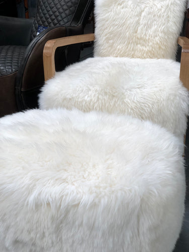 Baa Baa armchair and footstool