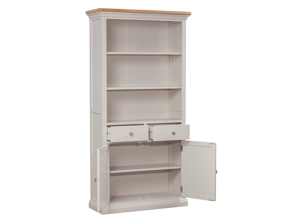 Twemlow Large Bookcase - Painted in Farrow & Ball Paint