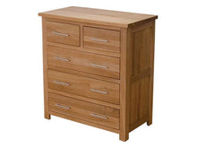 Load image into Gallery viewer, Oxford Chest 100% Solid Oak from Top Secret Furniture