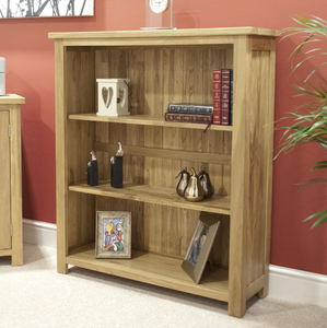 Oxford Bookcases - 100% Solid Oak