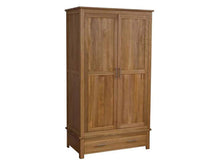 Load image into Gallery viewer, Oxford Gents Wardrobe 100% Solid Oak from Top Secret Furniture