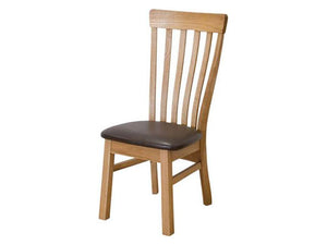 Oxford High Back Slatted Dining Chair
