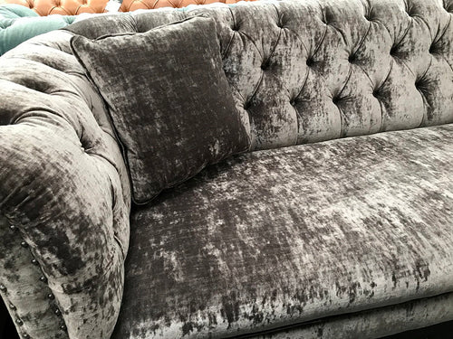 Regent Button Tufted Sofa from Top Secret Furniture Cheshire