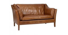 Load image into Gallery viewer, John Lewis Sofa - Halo Reggio Leather Sofa and Armchair
