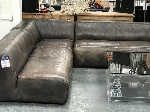 Halo REX Leather Corner Sofa