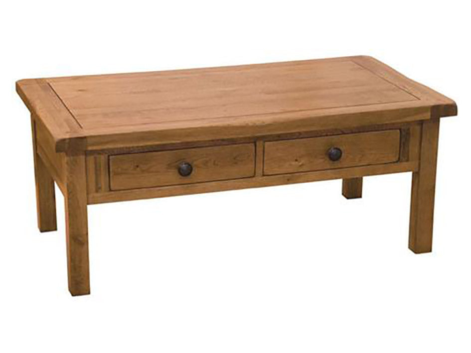 Rustic Coffee Table- Solid Oak Furniture