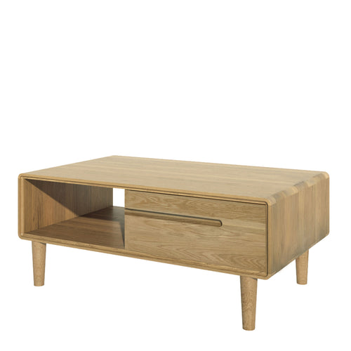 Nordic Scandinavian Furniture oak coffee table from Top Secret Furniture
