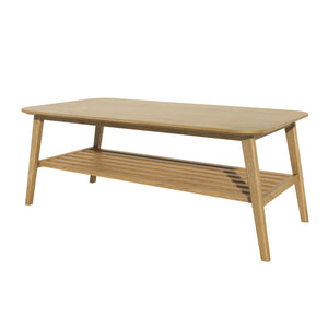 Nordic Scandinavian oak large coffee table furniture from top secret furniture