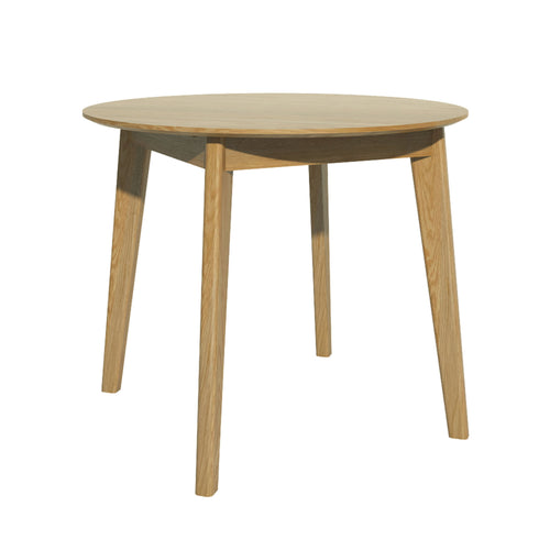 Nordic Oak round Dining Table from Top Secret Furniture