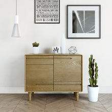 Load image into Gallery viewer, Nordic Scandic Oak small sideboard Furniture from Top Secret Furniture