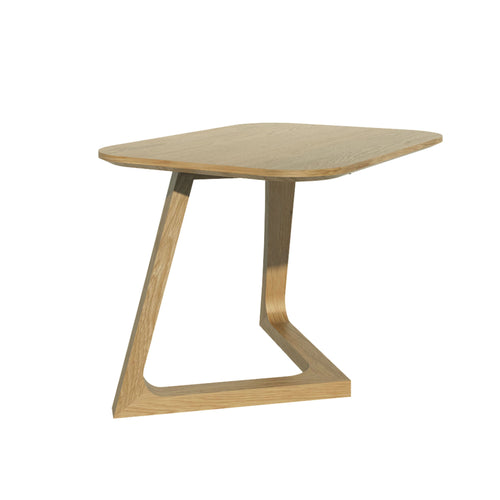 Nordic Oak Furniture small Lamp Table from Top Secret Furniture