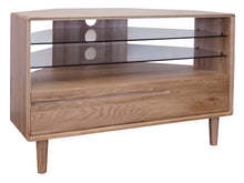 Load image into Gallery viewer, Nordic Oak Corner TV Unit