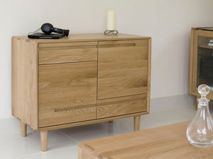 Nordic Scandic Oak small sideboard Furniture from Top Secret Furniture