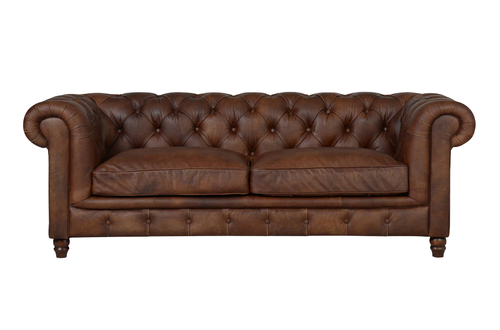 Chesterfield Halo Earl Sofa in Antique Whisky from Top Secret Furniture