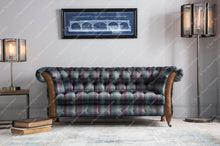 Load image into Gallery viewer, Balmoral 3 seater sofa in Moorland Tweed or Hunting Lodge Tweed