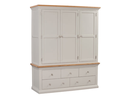 Twemlow Triple Wardrobe - Painted in Farrow & Ball Paint