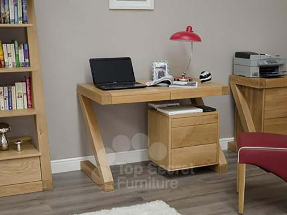 Small Office desk or Home desk - Solid Oak Wood