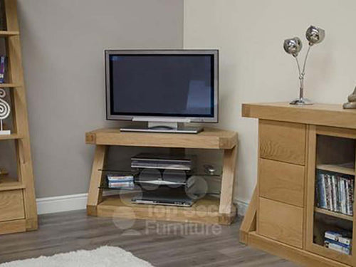 Solid Oak TV unit, TV solid oak Cabinet