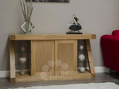 Large Sideboard - Solid Oak Sideboard