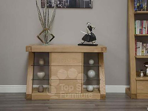 Small Sideboard - Solid Oak Sideboard