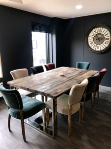 Customers dining table from Top Secret Furniture