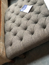 Load image into Gallery viewer, Arron Footstool in Harris Tweed