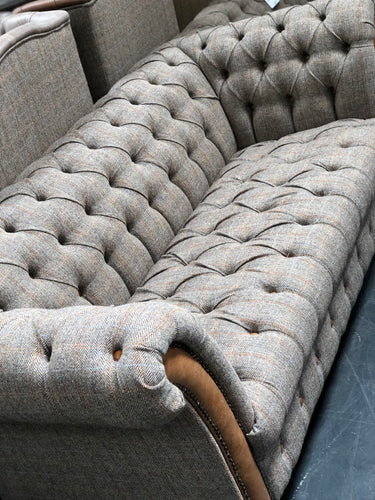 Stirling 2/3 seater sofas in Moorland Tweed and Hunting Tweed