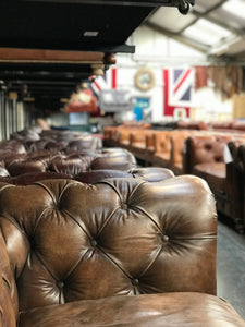 Chesterfield Leather Sofas from Top Secret Furniture Outlet Village Cheshire