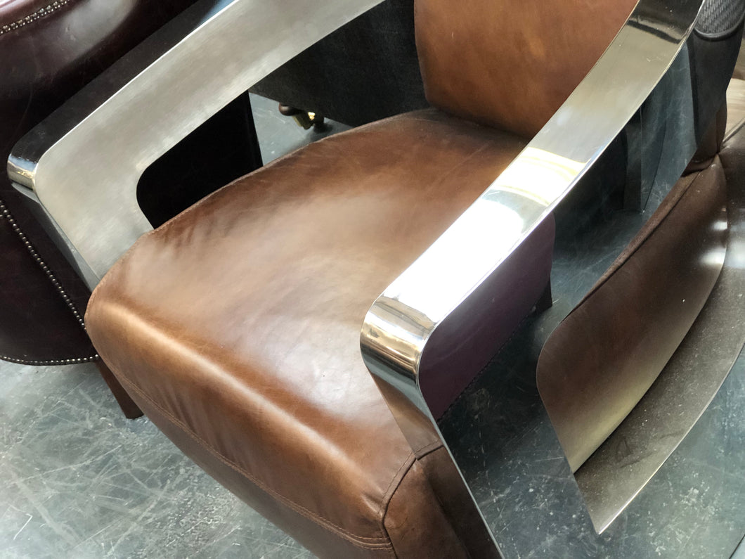 Halo Mars leather Chair from Top Secret Furniture