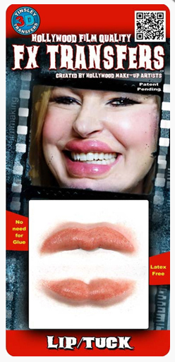Tinsley FX Transfers - Botoxic Lips/ Lip Tuck