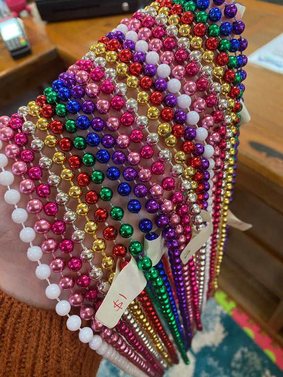 HappyTime Assorted Coloured 1920's Beads