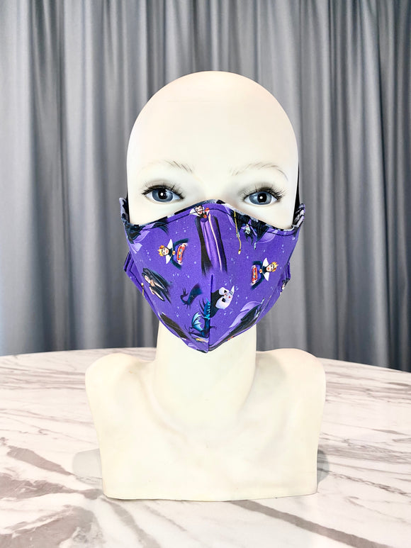 GIRL POWER VILLIANS Face Mask