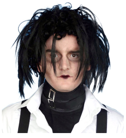 Carnival Black Edward ScissorHands Wig