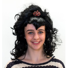 Interalia V Fringe Wig with Tiara